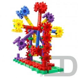 Конструктор для вивчення різних конструкцій та механізмів (Корбо 430 деталей ) 1