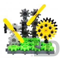 Конструктор для вивчення різних конструкцій та механізмів (Корбо техніка 420 деталей)
