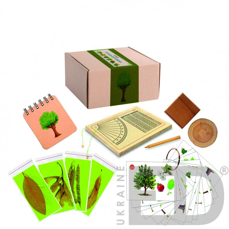 """Колекція """"Породи деревини"""" лабораторна"""