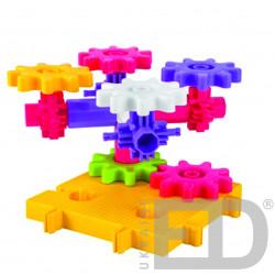 Конструктор для вивчення різних конструкцій та механізмів (Корбо ПАСТЕЛЬ 370 деталей) 3