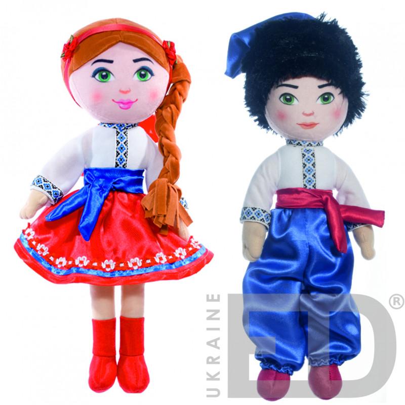 Набір ляльок в національному одязі (Українці)