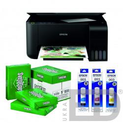 Фабрика друку (багатофункціональний пристрій - Принтер - Сканер - Копір, комплект фарб)