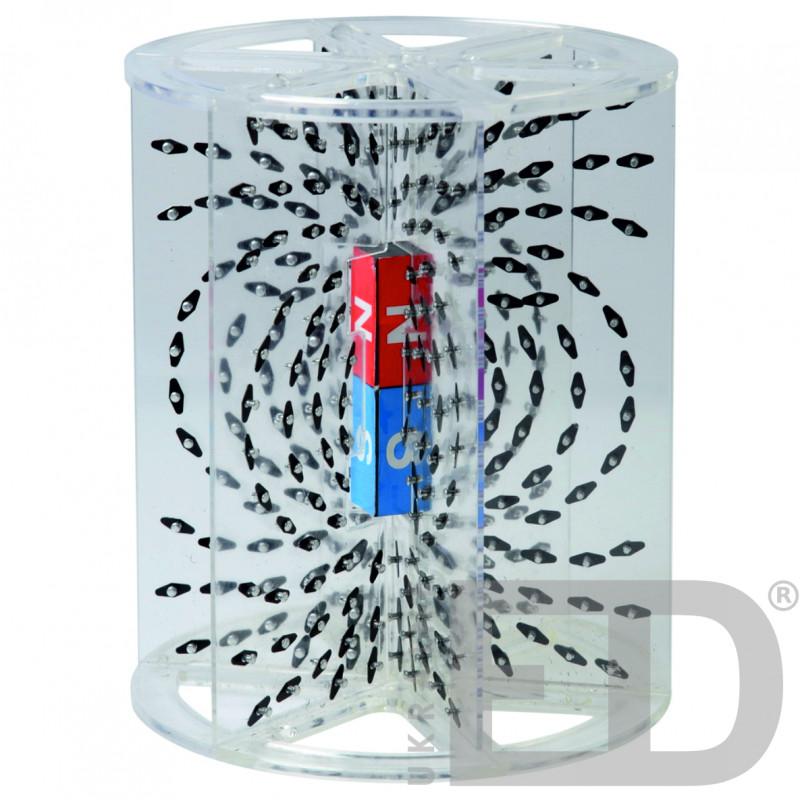 Модель для демонстрації ліній магнітного поля в об'ємі