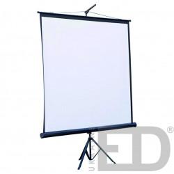 Довгофокусний проектор ACER з кріпленням та проекційним екраном на тринозі 1