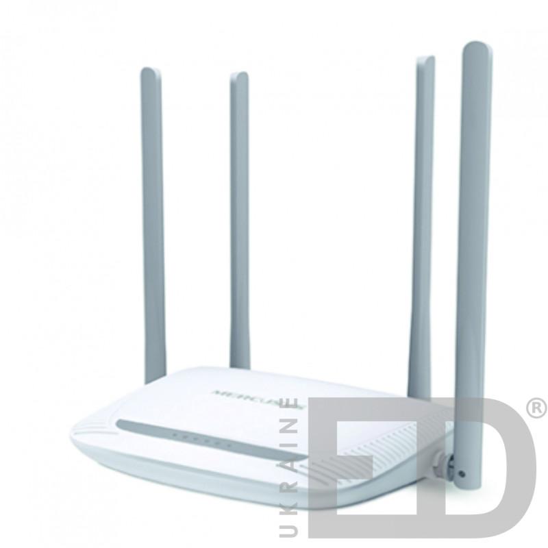 Бездротовий маршрутизатор  Mercusys (є точкою доступу для забезпечення підключення до 10 пристроїв)