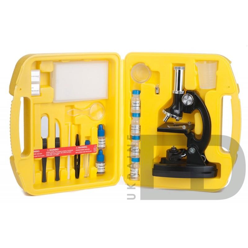 Мікроскоп дитячий (набір в кейсі)