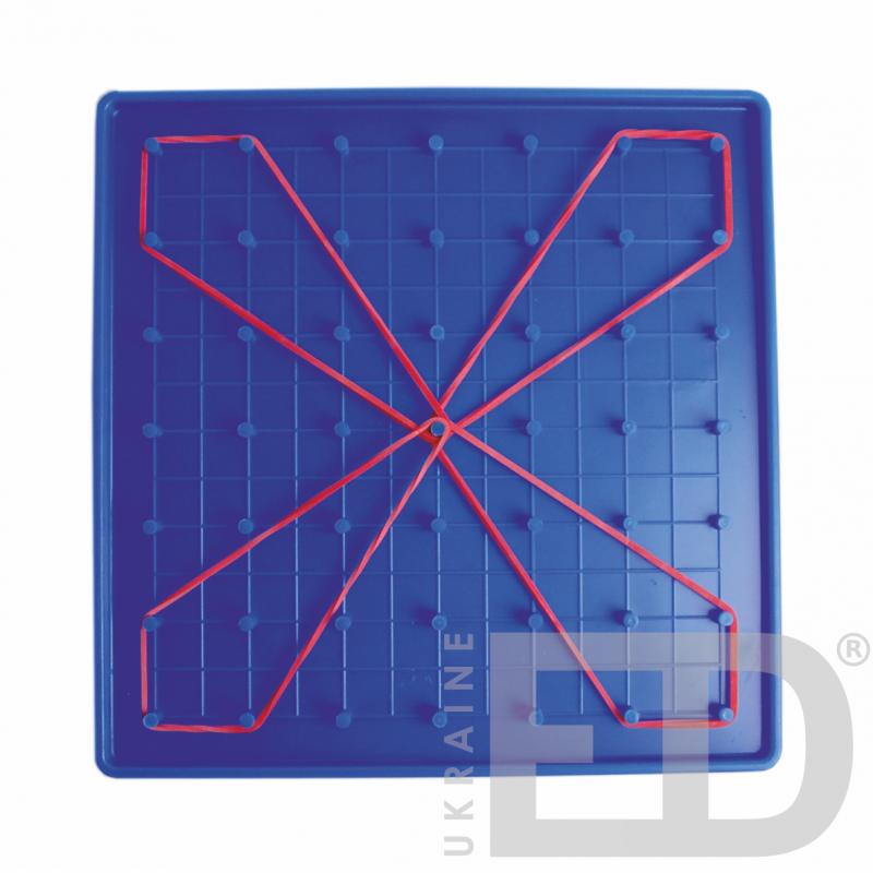 Математичний планшет (7х7, пластик, двосторонній)