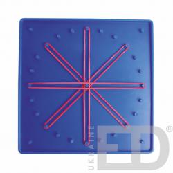 Математичний планшет (7х7, пластик, двосторонній) 1
