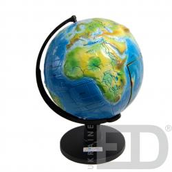 """Глобус-модель""""Будова Землі"""" (розбірна). Діаметр: 320 мм 1"""