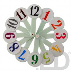 Віяло годинників та чисел 1