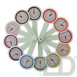 Віяло годинників та чисел 2
