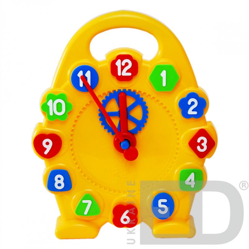 Модель механічного годинника (годинна, хвилинна стрілки), роздаткова