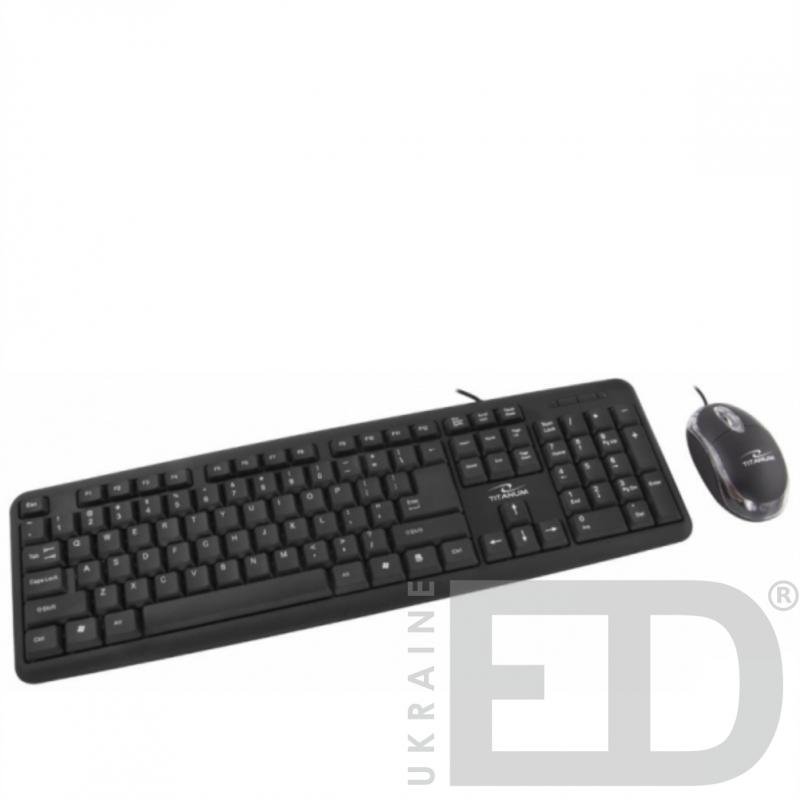 Набір миша та клавiатура дротова USB