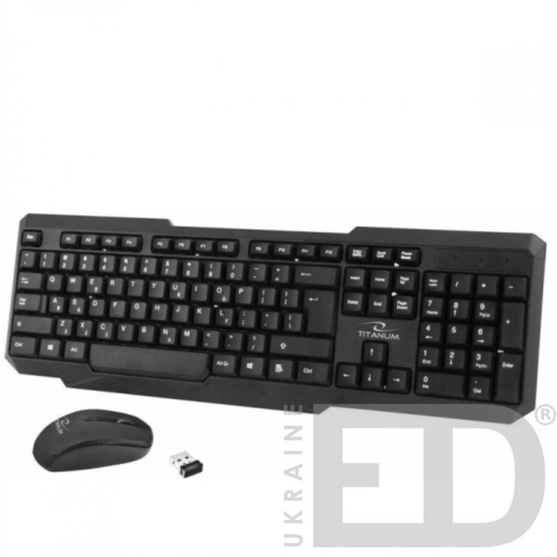 Набір миша та клавiатура бездротова