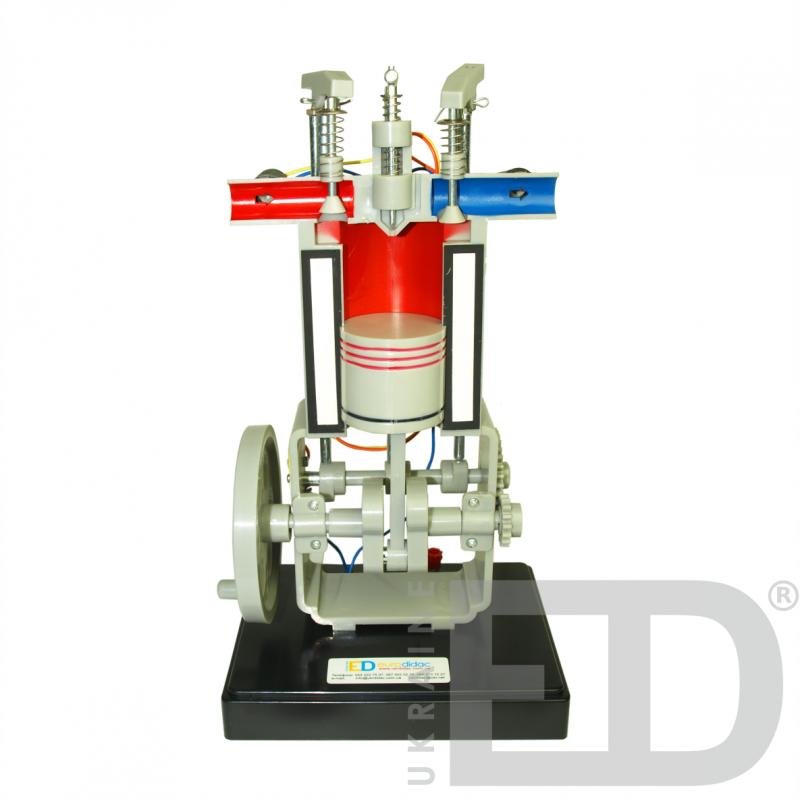 Модель дизельного двигуна