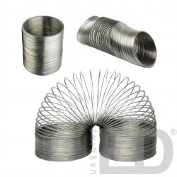 Довга металева пружина - слінкі 1