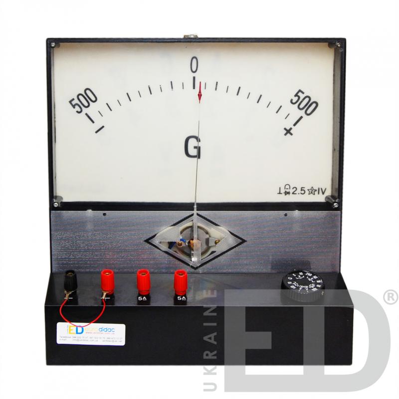 Демонстраційний гальванометр магнітоелектричної системи