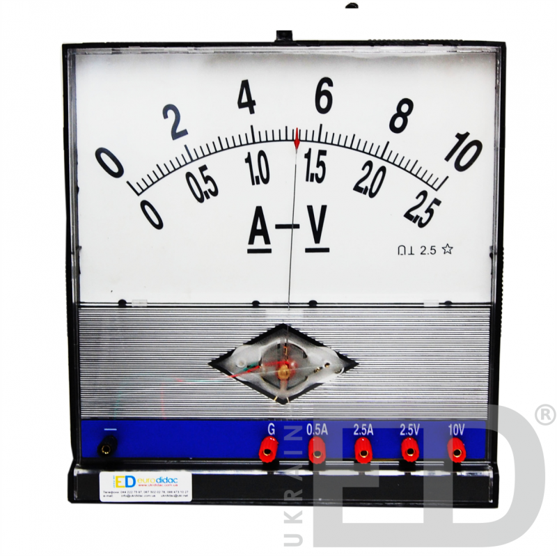 Демонстраційний мультиметр з гальванометром