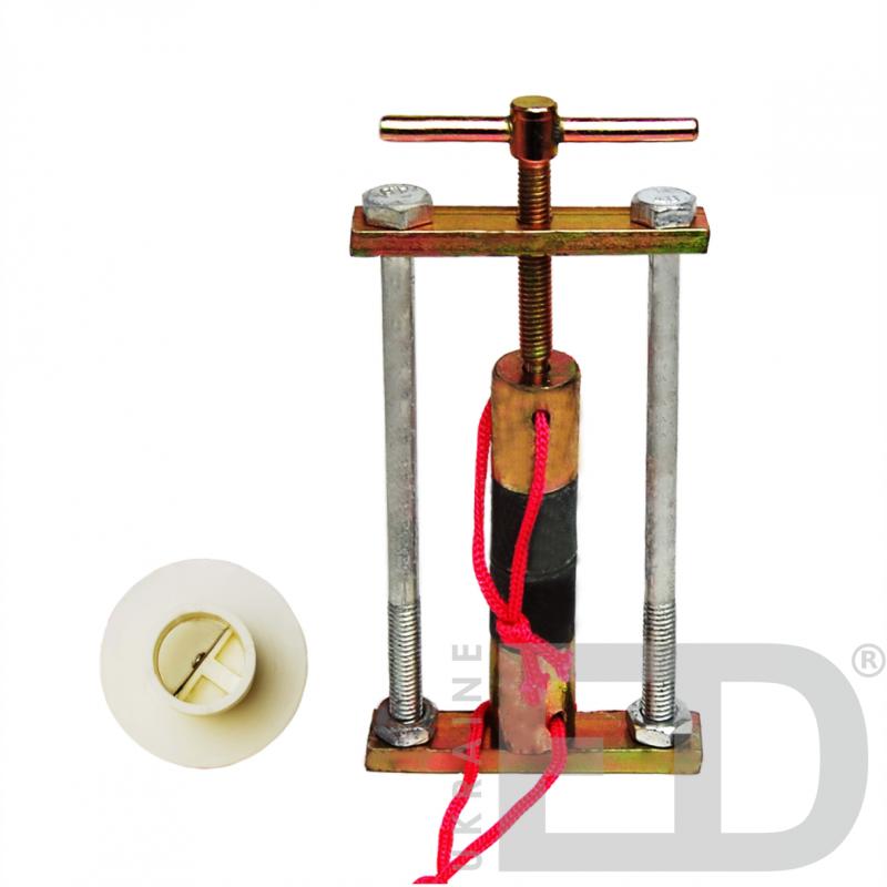 Циліндри свинцеві зі стругом (з металевою струбциною)