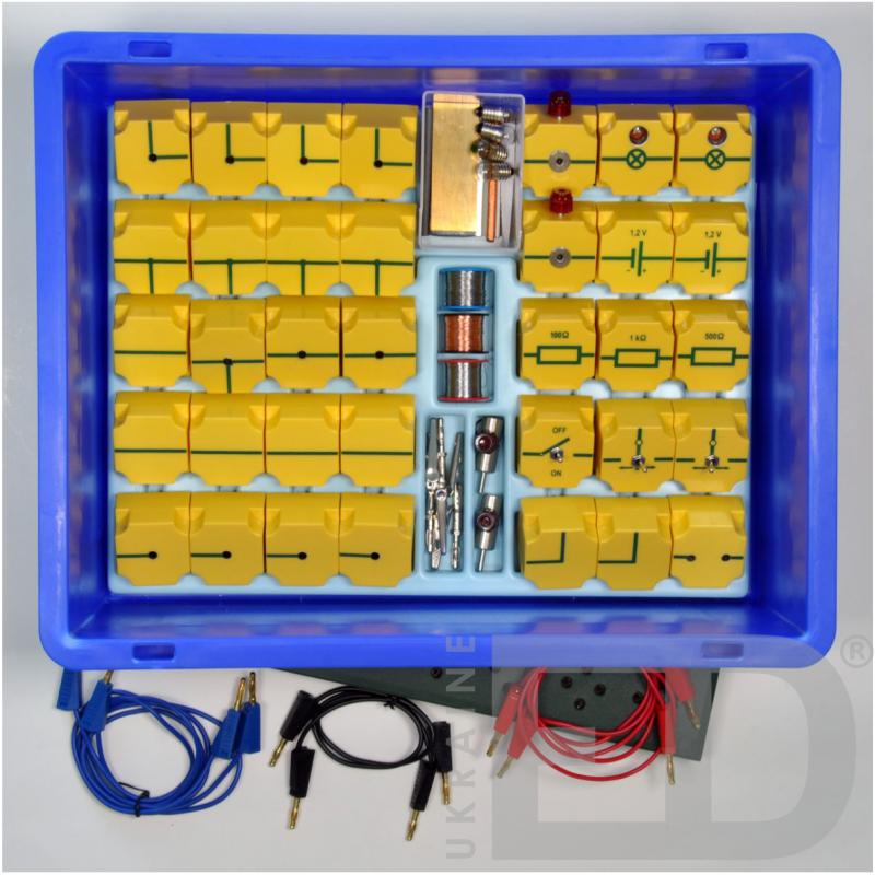 Набір лабораторний для вивчення електрики