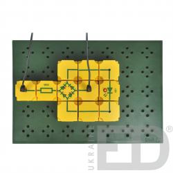 Електроніка: набір лабораторний для вивчення електрики 1