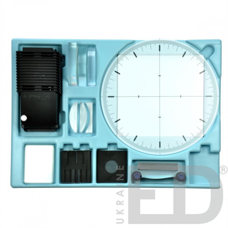Набір з геометричної оптики для виконання лабораторних робіт