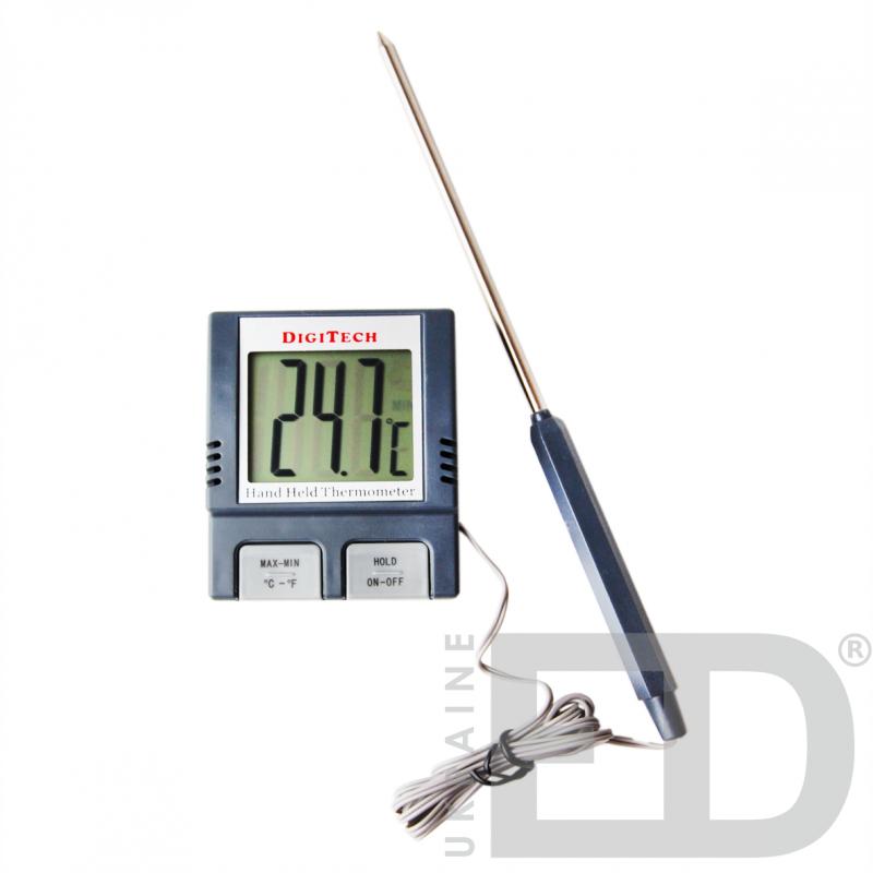 Термометр електронний (-50 +200°С) зі щупом