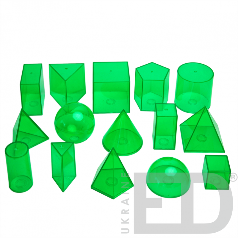 Набір геометричних моделей (15 одиниць)