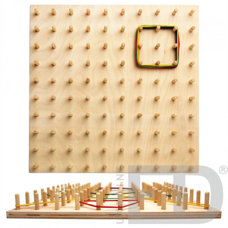 Математичний планшет (10 х 10, дерево)