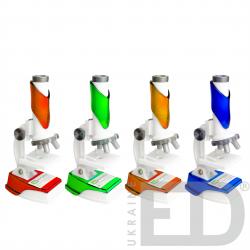 Мікроскоп з LED підсвіткою (набір в кейсі) 1