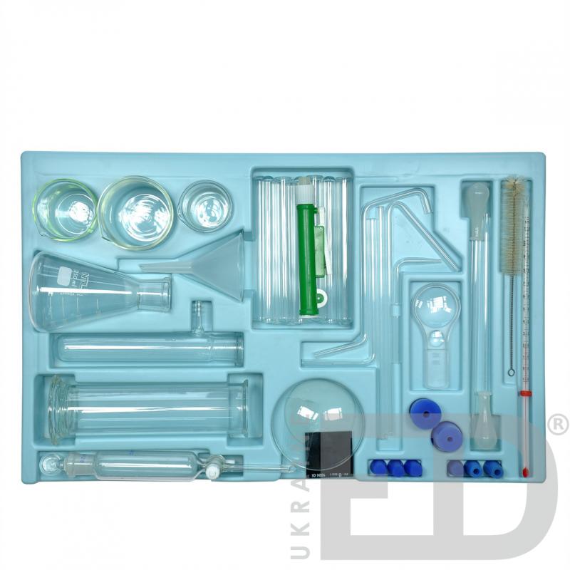 Набір хімічного посуду (для вчителя)