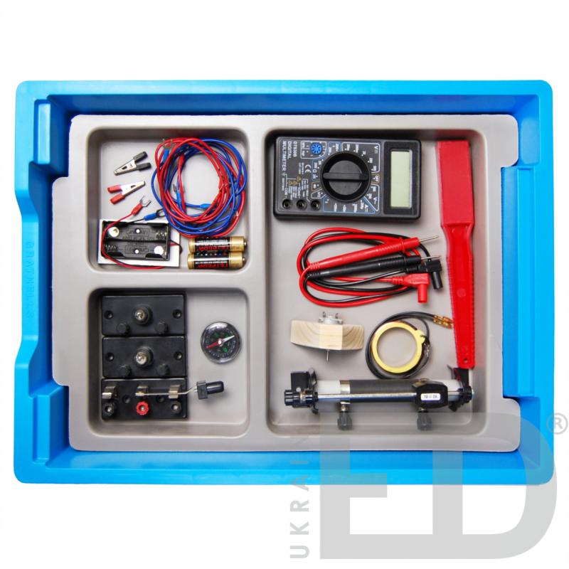 Електрика та магнетизм: набір лабораторний для вивчення електрики