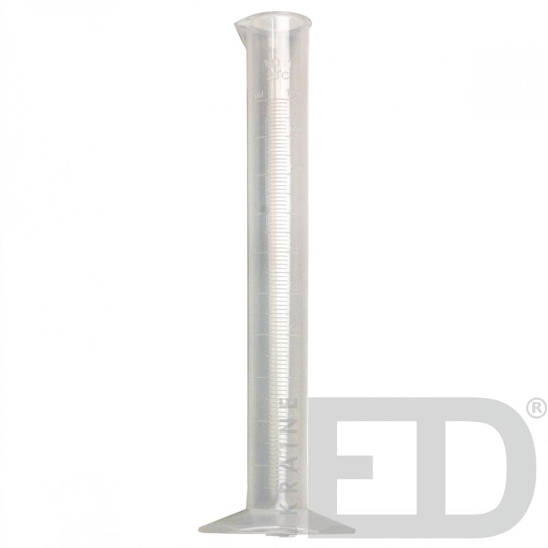 Циліндр вимірювальний 100 мл ПП