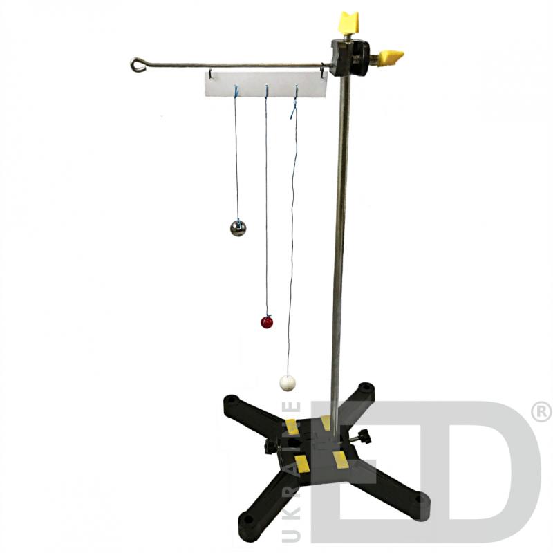 Прилад для демонстрації вимушених коливань - набір лабораторний для вивчення механіки