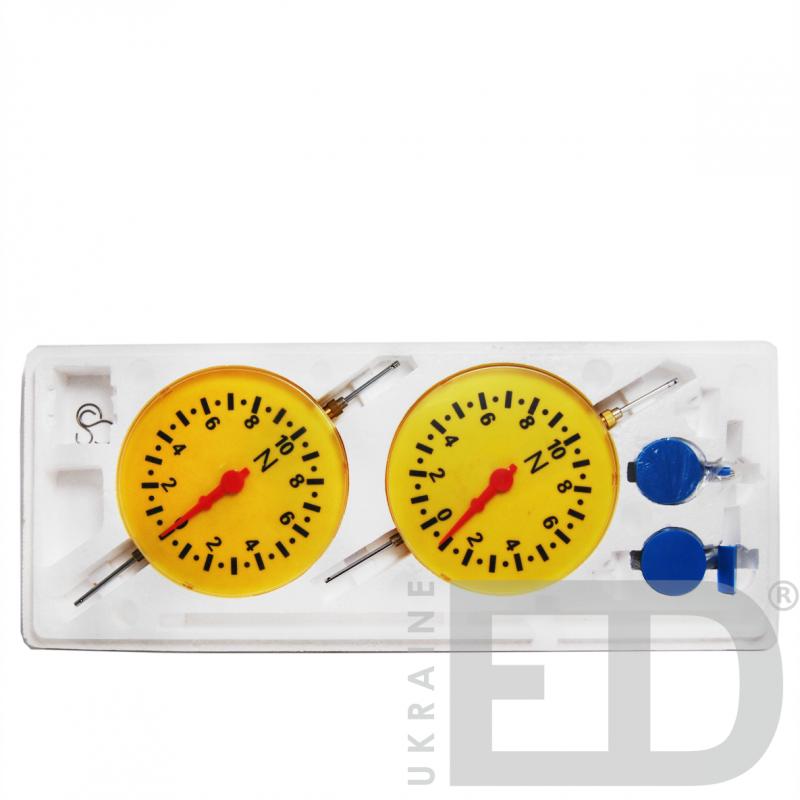 Динамометри демонстраційні - набір лабораторний для вивчення механіки