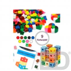 Набір для конструювання з різними способами з'єднання деталей, 350