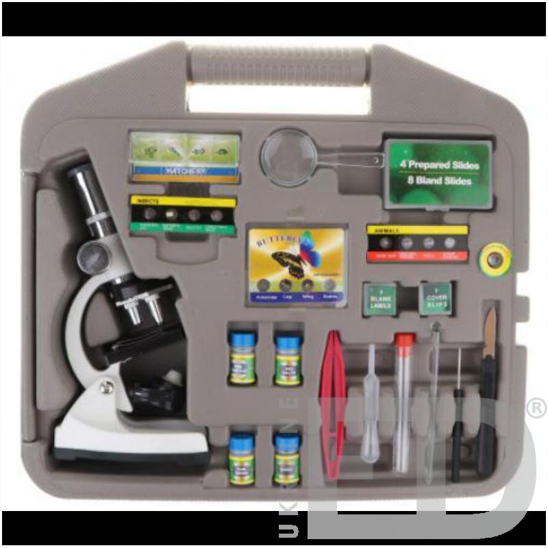 Мікроскоп шкільний (набір в кейсі)