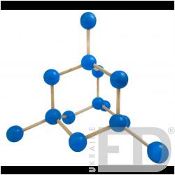 Модель кристалічної гратки...