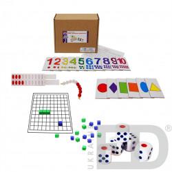 Набір з математики роздатковий