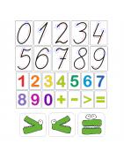 Роздатковий матеріал з математики для початкової школи НУШ (1-4 класи)