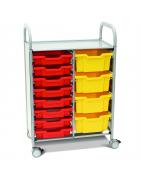 Ящики та пластикові коробки для зберігання речей та іграшок для НУШ